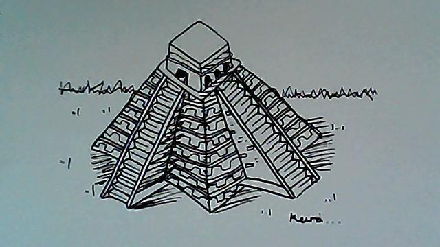Keira's Mayan temple