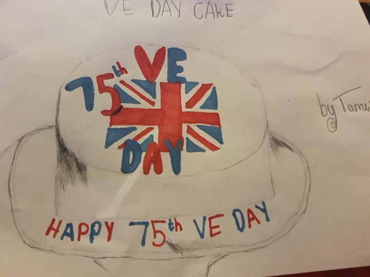 Tami's VE Day Cake!