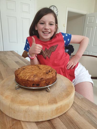 Ella's Low fat, health snack carrot cake