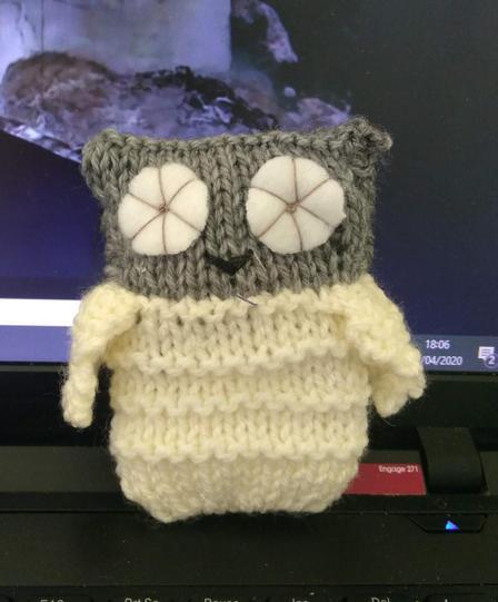Mrs Seddon's Owl!