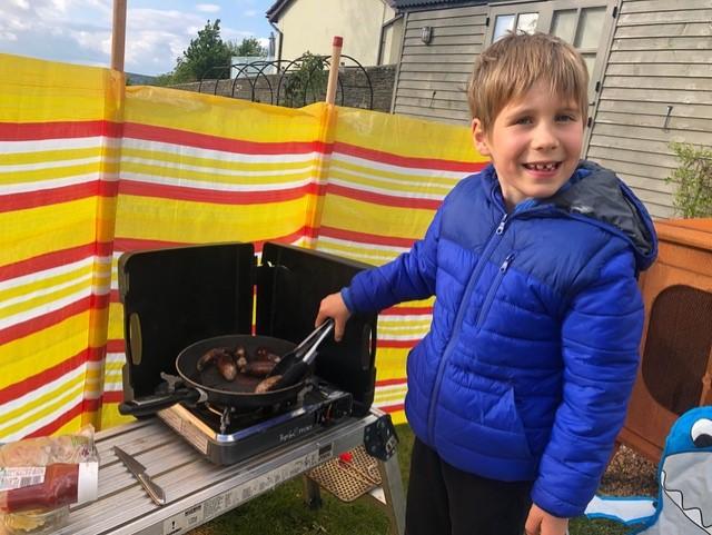 Outdoor cooking!