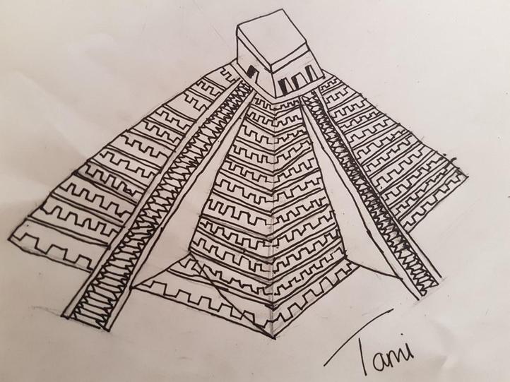 Tami's Mayan temple