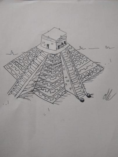 Oli F's Mayan Temple