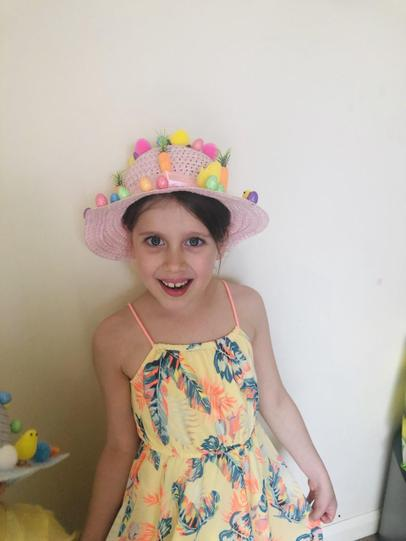 Lovely Easter bonnet Georgie!