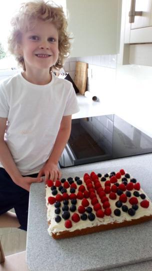 Amazing cake Nicholas!