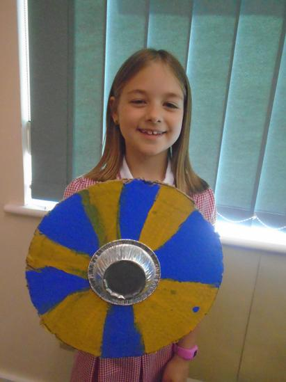 Year 2 Viking Shields
