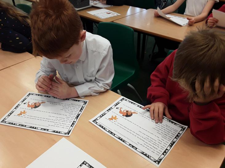 Year 2 Safari Playscripts