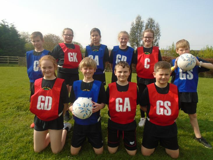 Bacon Garth Netball Teams