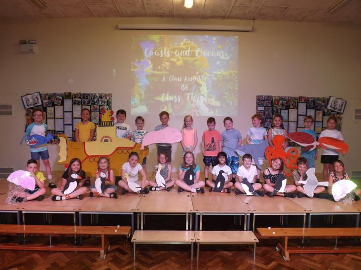 Year 3 Coasts and Oceans Class Assembly