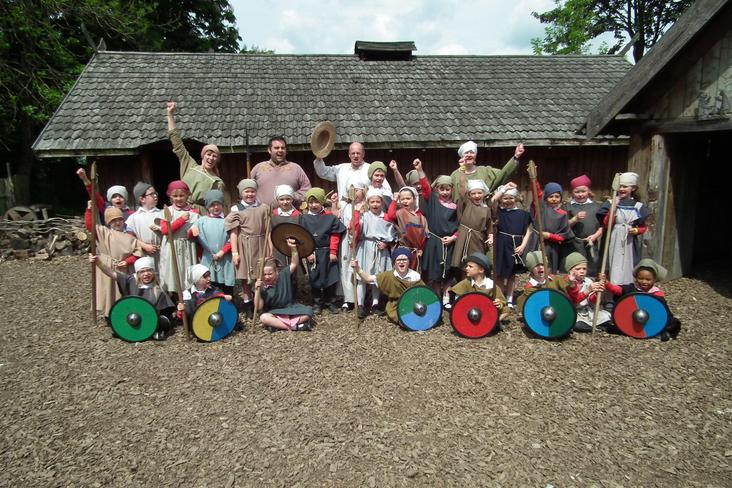 Year 2 Viking trip to Murton Park