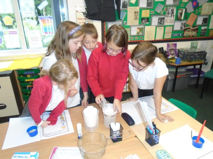 Year 4 Science Separating Mixtures