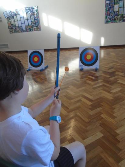 Year 2 Tigers Trust Archery