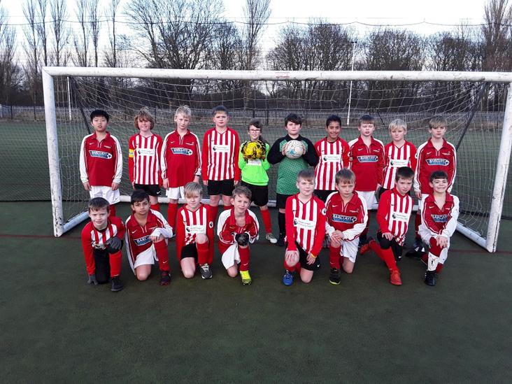 Year 5 & 6 Football Teams
