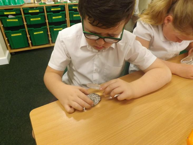 Year 3 Observing Rocks