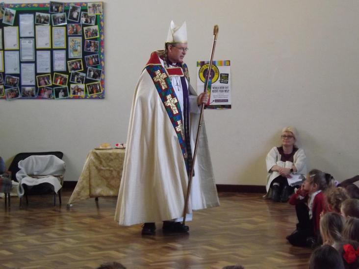 Visit from the Bishop of Durham