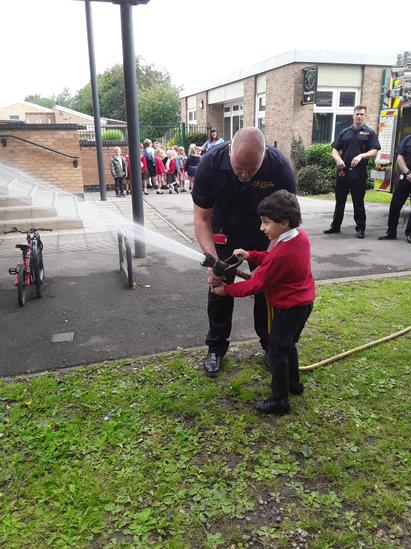 Year 1 Fire Brigade Visit