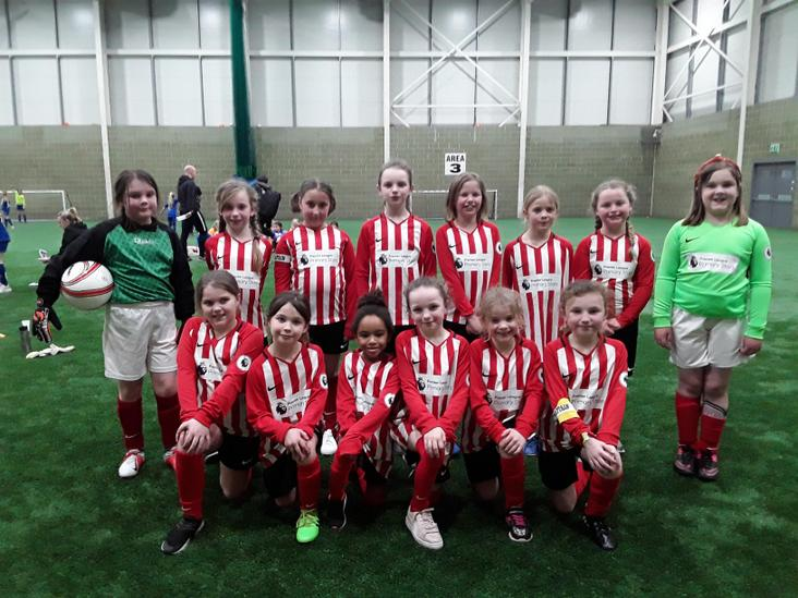 Year 3 & 4 Girls Football Teams