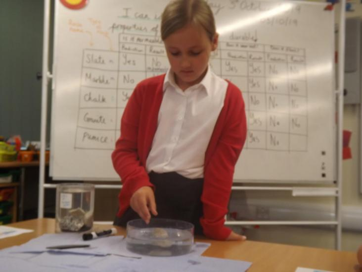 Year 3 Investigating Floating Pumice