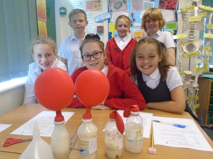 Year 6 Yeast Science Experiment