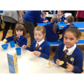 We enjoyed a fairtrade breakfast together.