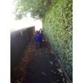We walked down Badsworth Way.