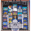 Our Taj Mahal Display