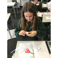 Making cubes from nets.