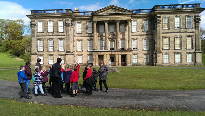 We all had a wonderful time at Calke Abbey last week finding out what it was like to live in such a magnificent house.  We even got to see some beautiful native birds and animals as we enjoyed a walk around the grounds.  Thankfully the sun was shining!