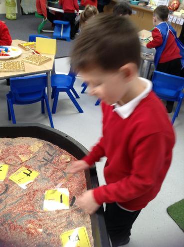 Writing numbers in Mandarin.