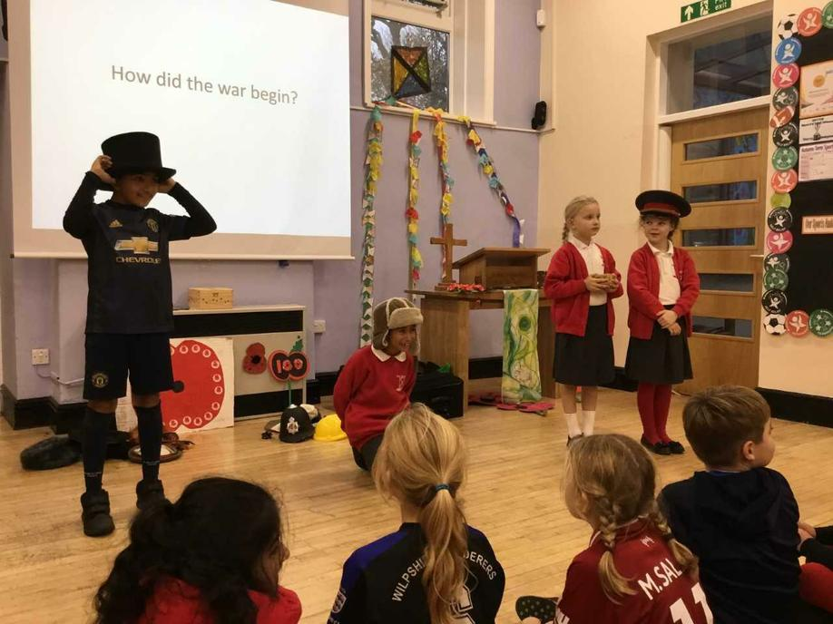 Using hats to find out how the WW1 started.