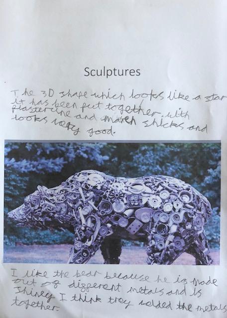 Exploring sculptures in Art