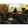 P4 trip to Crumlin Library