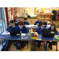 P6/7 ICT lesson