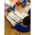 P6 reading their Christmas poems
