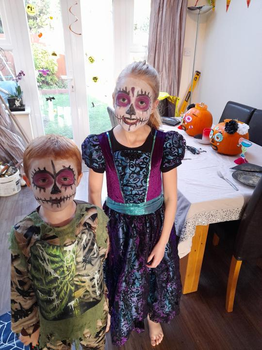 Eliza's Day of the Dead Fiesta