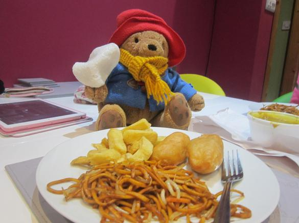 Paddington was well fed!
