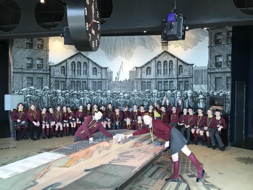 P7 at Titanic Museum