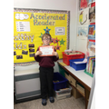 The first to have read 250,000 words.  Well done!
