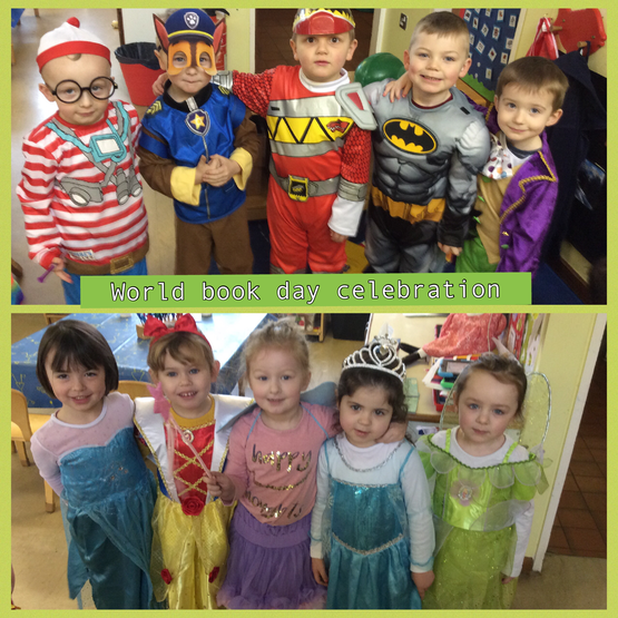 We dressed as our favourite storybook characters.