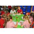 Class 3 busy at work.