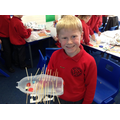 We used junk modelling to create a shape.