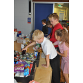 School councillors sorted out the donations