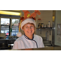 Our new cook Karen - what an amazing job she did!