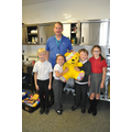 Mr Melling was very happy with the donations