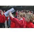 Some children made pinhole cameras