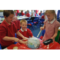 Class 5 creating the planets