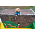 Humpty Dumpty - and, yes, he did fall off!