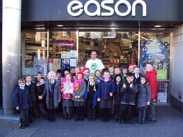Year 1 outing to Easons