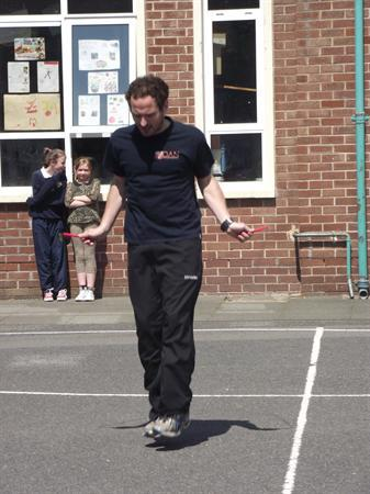 Fitness Day with Dan the Skipping Man