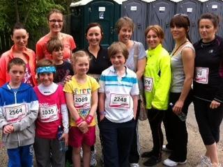 Congratulations to the Race for life runners
